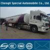 Aluminiumdieselheizöl-Beförderung- mit Tankwagenbecken-LKW-halb Schlussteil