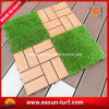 Искусственная трава блокируя напольную плитку для сада декоративного