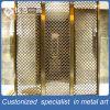 Divisorio tagliato laser Bronze personalizzato dell'acciaio inossidabile per l'hotel/ristorante