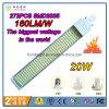 2016 la meilleure lumière de vente du G-24 DEL Pl de 160lm/W 20W avec la plus grande puissance en watts et le lumen le plus élevé a sorti dans le monde