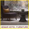Hölzerner Aufenthaltsraum-Sofa-Akzent-Stuhl für Fünf-Sternerücksortierung-Hotel