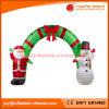 膨脹可能なクリスマスサンタ及びスノーマンのアーチの装飾H1-301