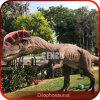遊園地の恐竜の生気に満ちたジュラ紀の恐竜モデル