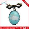 Distintivo di Pin del risvolto del metallo personalizzato fornitore con la pietra
