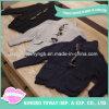 Cardigan Hand Knitted lavorati a maglia del nero del reticolo dei maglioni dei bambini