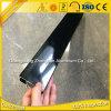 Profil en aluminium noir de anodisation de l'électrophorèse 6063 T5