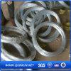 工場からの電流を通され、黒い鉄の結合ワイヤー