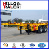 2 Radachsen 20FT 40FT Frame Skeleton Container Semi Trailer Chassis