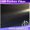 Nuovo 4D Carbon Fiber Vinyl Sticker per Auto Film 1.52mx30m Roll