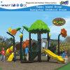 Campo de jogos ao ar livre do equipamento do jogo de crianças da corrediça plástica (HD-FY02601)