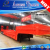 오목한 Beam 120tons 4 Axles Lowbed Trailer Truck