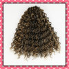 싼 Price 브라질 Hair Weft Curly Hair 16inches