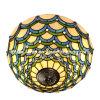 Lámpara europea hecha a mano del techo de Tiffany del estilo del festival (TC17004)