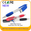Flash de marcado en caliente de encargo Pendrive de la pluma de bola del USB para la promoción (EP086)