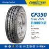 pneu de pneu du camion 185r14c léger, pneu de véhicule