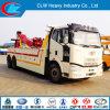 Carro de camión de auxilio del camino de Faw 6X4 para la venta
