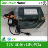 12V 40ah LiFePO4 Battery para Car