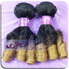 3 Rodillos de calidad superior europea caramelo Curl Ombre color 1b / 27 Proveedor de la trama del pelo!
