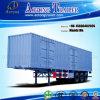 밴 Semi Trailer 또는 화물 상자 트럭 트레일러