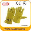 Регулируемая кожаный ремешок Теплые Зерно промышленной безопасности водителя Рабочие перчатки (12205)