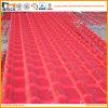 Telha de telhado plástica ondulada da resina sintética do Asa da construção do PVC