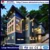O UL, GV, BV Certificated a casa de campo clara do Prefab da construção de aço