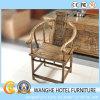 Ristorante di legno antico cinese dell'hotel che pranza la presidenza di banchetto