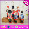 Kids、Children、Sale W02A048のためのSmall Nutcracker ToyのためのWooden Handle Soldier Nutcracker Toyのための2015小型Wooden Nutcracker Toy