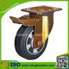 6 Inch-feste Gummirad-Fußrolle, Hochleistungsfußrolle
