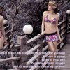Marken-Badeanzug O-Küssen drei Stücke Bikini-