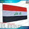 90X180cm 160GSM Spun Polyester Irak Flag (NF05F09034)