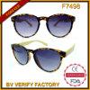 F7498 Clubmaster Retro De Soleil com os óculos de sol de bambu do templo