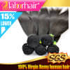 Brasiliano superiore Virgin Remy Hair di 7A Grade Straight 100%