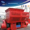 Il macchinario di riciclaggio dei rifiuti, canta la trinciatrice dell'asta cilindrica