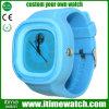Het verwisselbare Horloge van de Gelei van het Silicone van het Gezicht (het-WS01)