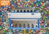 [فس] [ب] رقاقة بلاستيكيّة آلة لون فرّاز