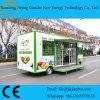 2017 de Nieuwe Ontworpen Richtende Vrachtwagens van het Voedsel voor het Verkopen van Fruit en Groenten