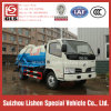 Dongfeng 4*2 하수 오물 흡입 트럭 작은 진공 하수 오물 트럭 5 톤