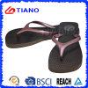 Klassiker Beach Flipflops für Lady mit Shining PVC Upper (TNK10026)