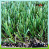 정원 Courts를 위한 PE Monofilament & PP Curly Yarn Landscaping Artificial Residential Turf Lawn