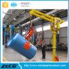 Quijadas neumáticas ahorros de energía que filetean el brazo de los manipulantes industriales con el agarrador para manejar el cilindro
