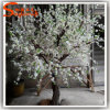 عرس زخرفة مصغّرة أبيض اصطناعيّة شجرة [شرّي بلوسّوم]