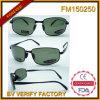 FM150250 vendent les lunettes de soleil bon marché polarisées de Matel de promotion de la Chine