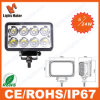 Hete Seller 10-30V 24W LED Work Light voor Tractor, Offroad, ATV, Op zwaar werk berekende Vehicles, Ce, RoHS