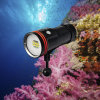 100meters impermeabile Underwater Photography Torch con Push Button Switch