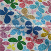 Flower Printed Artificial PVC Leather for Furniture