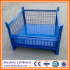 Baokai Storage Collapsible Stackable Storage Metal Pallet Cage
