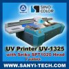 Grand Format Flatbed UV Printer Price, UV-1325 avec Seiko Spt1020 Heads
