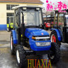 35HP 4X4 Dongfeng Farm Tractor mit Best Price mit Cabin/Sunshade Mounted auf Rotary Tiller/Harvester/Post Digger/Front Loader/Backhoe /Trailer