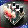 Étalage acrylique de compteur de vernis à ongles de qualité
